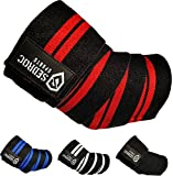 Best Elbow Wraps - Sedroc Sports Weight Lifting Elbow Wraps Powerlifting Support Review