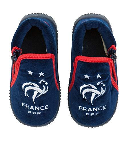 France - Zapatillas de fútbol para bebé, colección Oficia