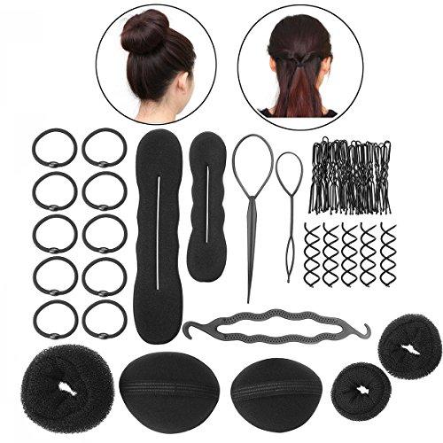 LEORX - Lot d'accessoires pour cheveux - Pour femme ou jeune fille