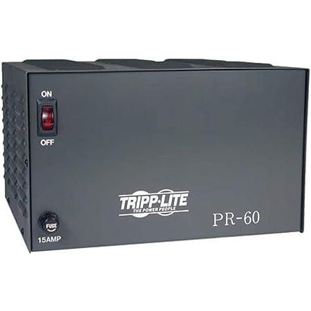 Tripp Lite PR60 DC Power Supply 60A 120V AC Input to 13.8 DC Output TAA GSA