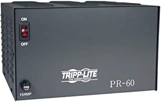 Tripp Lite PR60 DC Power Supply 60A 120V AC Input to 13.8 DC Output TAA GSA