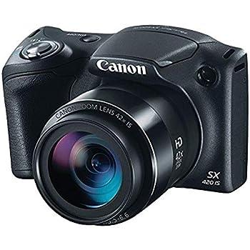 Canon PowerShot SX420 Digital Camera w/ 42x Optical Zoom - Wi-Fi & NFC Enabled  Black