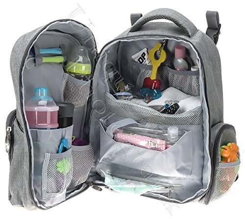 Diaper Bag Backpacks Best 5 piece baby organizer for moms and dads