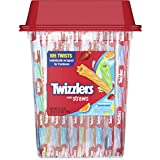 TWIZZLERS Rainbow Twists Licorice Candy, 105 Count
