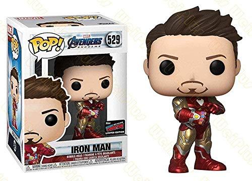 A-Generic Pop Iron Man Iron Man Fait à la Main Tony Tony Stark modèle décoratif Jouet # 529