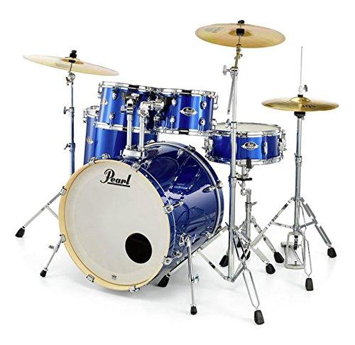Pearl Export EXX725 FBR High Voltage Blue Batería acústica completa azul