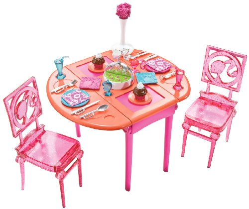 Mattel T7536 - Barbie Esszimmer, Dining Room, Möbel