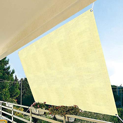 Athemeet Sun Shade Sail Cloth UVBlock Stoff Pflanze Shade Net, Sonnensegel Schatten, Sonnenschutz Leinwand, Terrassenvordach Sonnenschutz-Markise Breath für Garten Außen...