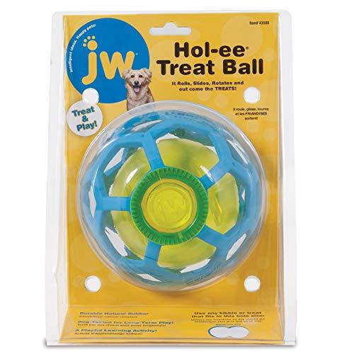 JW Jouet HOL-EE Roller Treat Ball De Jw, Jouet pour Chien à Mcher et Mordre pour Chien