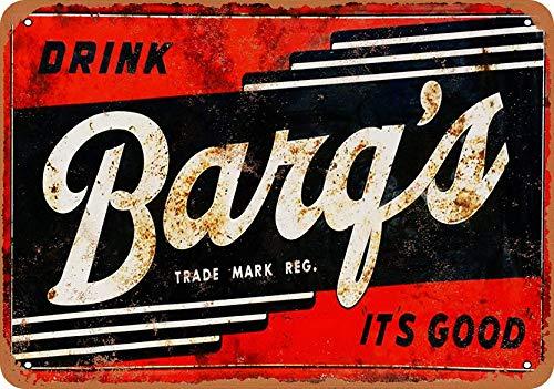 Generies Barq's Root Beer Blechschild Blechschild Vintage Retro Iron Wall Warning Poster Decor für Bar Cafe Store Home Garage Büro