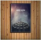 Cubierta de álbum caliente Grupo de música Arte Pintura Lienzo Póster Pared Decoración para el hogar Carteles e impresiones(60X80Cm) -24x32 Pulgadas Sin marco
