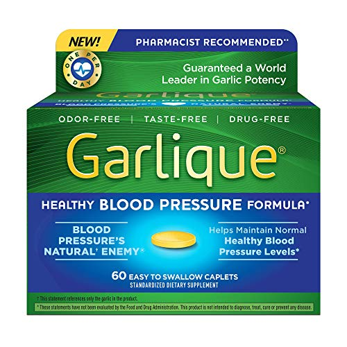 Garlique Healthy Blood Pressure Formula 60 ct