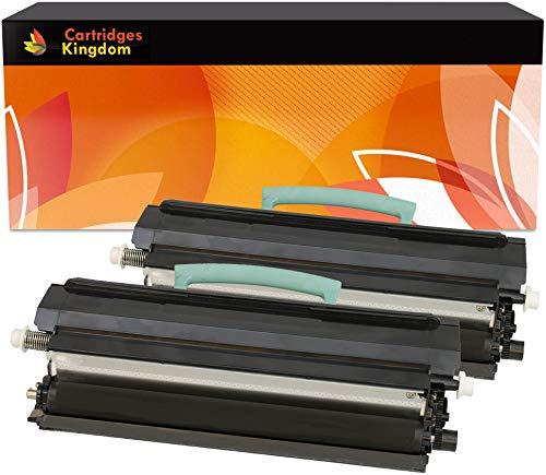 Toner Lexmark E250D Marca Cartridges Kingdom