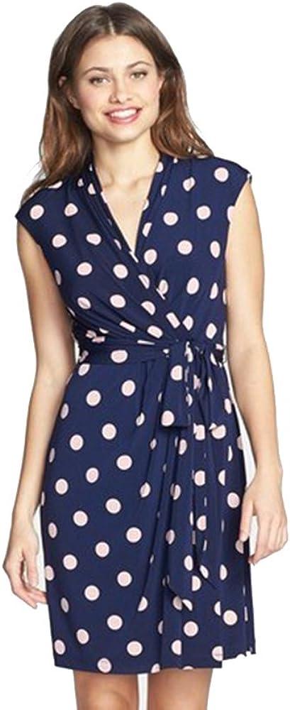Eliza J Women's Sleeveless Halter Ballgown with Beaded Neckband Dress
