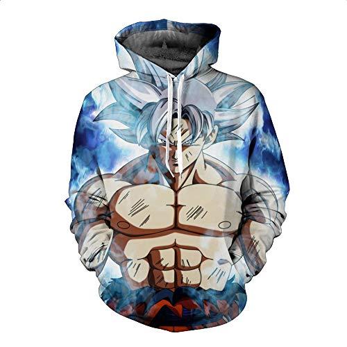 Preisvergleich Produktbild 3D Hoodie Unisex Sweater Print Sweatshirts Mantel Tops Hd Kapuzen Pullover Cosplay Sport Style XS