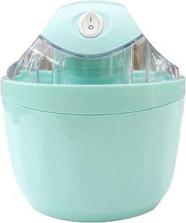 BJH Machine à crème glacée 14x14x16.5cm - 500ml - Sorbetière aux Fruits - Machine à Yaourt glacé au Sorbet Palette de méla...