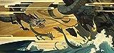 Rompecabezas Rompecabezas de madera de 1000 piezas Patrn de dragn de mitologa china Decoraciones familiares Regalo de cumpleaos nico Adecuado para adolescentes y adultos Tamao: 75 50 cm L076