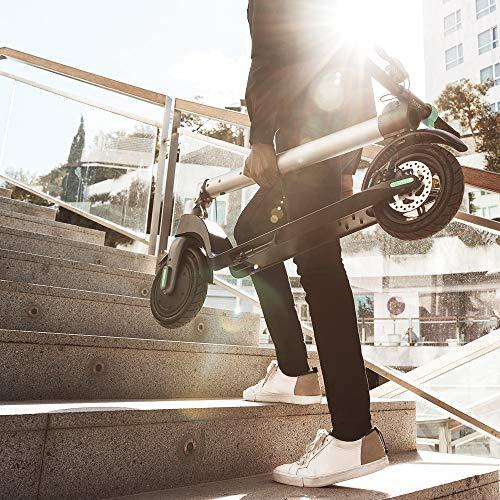 Cecotec Scooter Elettrico Bongo Serie A. Potenza Massima di 700 W, Batteria Intercambiabile, autonomia illimitata Fino a 25 km, Ruote tubeless Anti-Scoppio da 8,5