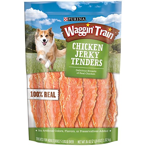 Waggin Train Chicken Jerky Dog Treats, 36 oz.