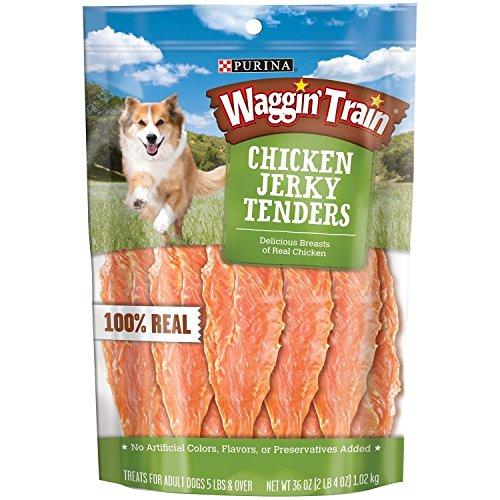 Waggin Train Chicken Jerky Dog Treats, 36 oz.