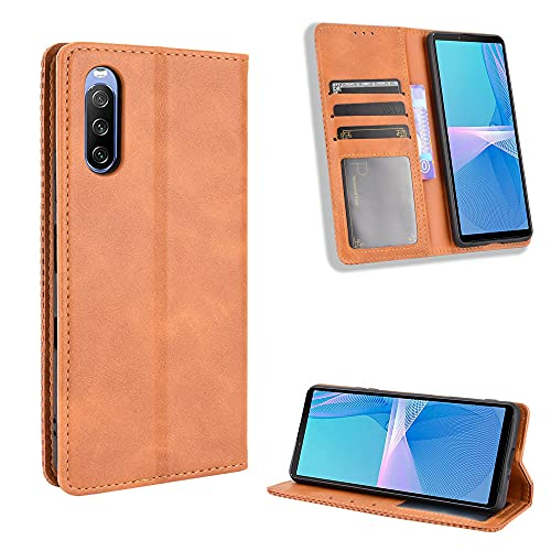 Price comparison product image Hülle® Wallet Flip Case Compatible for Sony Xperia 10 III(Pattern 4)