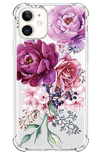 Riyeri Case para Apple iPhone 12 Pro MAX 2020 6.7' Funda, Slim Silicona Purpurina Transparente Cristal mármol Carcasa Fina de [Resistente a los arañazos ] [Funda Protectora de la cámara] Funda (2)