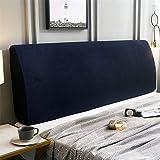 ZXDFG - Funda para cabecero de cama, almohadas de lectura gruesas, funda de respaldo de cama, extensible, antipolvo, funda de protección lavable, L, 150 cm