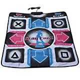 Dance Mat,Dance pad,Non-Slip Durable Wear-Resistant Dancing Step Dance Mat Pad Dancer Blanket with USB for PC,USB Connection,High sensitively