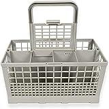 AHP Universal cesto de los Cubiertos lavavajillas Compatible con 2 en 1 cesto para Cubiertos universales Cesto de Cubiertos lavavajillas universales,A