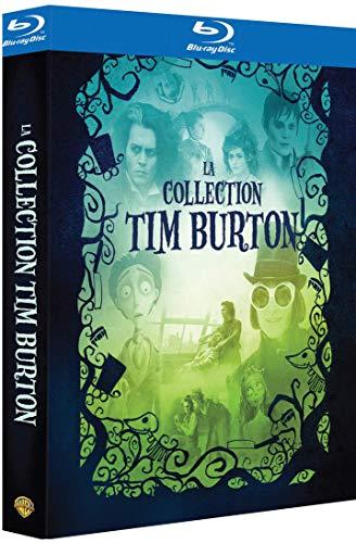 La Collection Tim Burton-Charlie et la chocolaterie + Les Noces funèbres + Sweeney Todd + Dark Shadows [Blu-Ray]