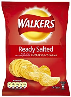 Walkers Crisps Ready Salted 32.5 grams (Pack of 48) (B003TD6BFS) | Amazon price tracker / tracking, Amazon price history charts, Amazon price watches, Amazon price drop alerts