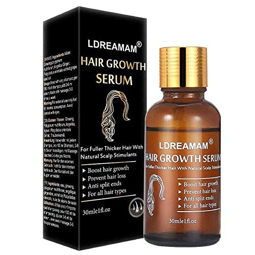 Hair Growth Serum,Hair Serum,Anti Hair Loss,Hair Growth Treatment Oil,Thickening & Regrowth Product,Stick to Promote Fast Hair Growth Serum Support For Men & Women in Irish Spring