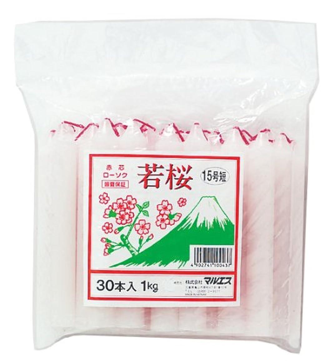 感嘆破滅的なウナギマルエス 若桜 赤芯15号 短寸 1kg