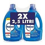 Napisan, Additivo Igienizzante Liquido per Bucato 5 litri - 2 Confezioni da 2.5 L