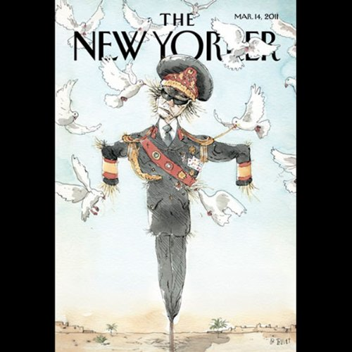 The New Yorker, March 14th 2011 (Jill Lepore, Louis Menand, Robert Coover) cover art