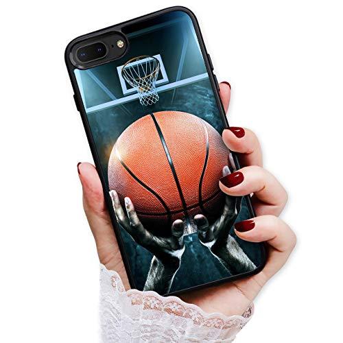 Schutzhülle für iPhone 6 Plus, iPhone 6S Plus, strapazierfähig, weich, für Handyrückseite, HOT13117 Basketball 13117