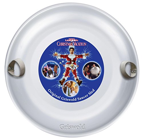 Griswold Original Saucer Sled - Christmas Vacation