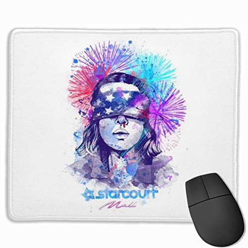 Mouse Pad Water Colour Upside Down Stranger Things Desk Mousepad 11.8X9.8 Inch Non-Slip Rubber Base, Keyboard Pad Mat for Computer/Laptop