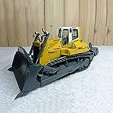 WANGCH 1:50 Konstruktionsfahrzeugmodell Alloy Crawler Bulldozer an beiden Enden des beschäftigten...