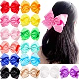 Mylody 8 Inches Big Hair Bows Clip Sparkly Glitter Rhinestones Large Boutique Cheer Bows Alligator Hair Clips Hair Accessories For Baby Girls Toddlers Kids Teens Pack Of 14 hair thickener Jan, 2021
