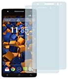 mumbi Schutzfolie kompatibel mit Medion Life X6001 Folie klar, Bildschirmschutzfolie (2X)