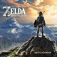 Legend of Zelda: Breadth of the Wild 2019 Wall Calendar