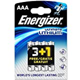 Energizer Ultimate Lithium - Pilas de litio (AAA, L92, 8 unidades)