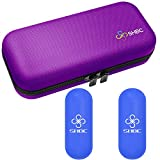 SHBC Insulin Cooler Travel Case for Diabetic Organize Medication Insulated Cooling Bag with 2 Ice Packs Purple