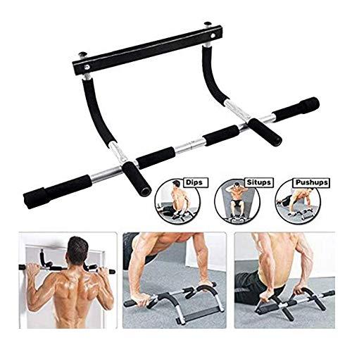 LBWNB Türöffnung Multifunktions-Klimmzugstange Multi-Grip Fitness-Stange Bauchübungen Ganzkörper-System Klimmzugstange