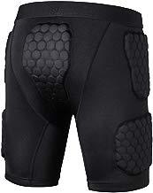 TZTED Pantalones Cortos Protección Acolchados Protector de Almohadilla de Cadera Muslo Cóccix para Esquí Patinaje Rugby Hockey Deportes Unisexo
