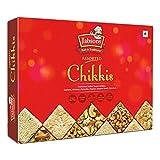 Jabsons - Assorted Chikki Premium Sweets (400g), (Peanuts, Sesame, Dates, Coconut & Dryfruit Brittle)