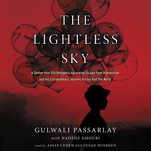 The Lightless Sky audiobook cover art