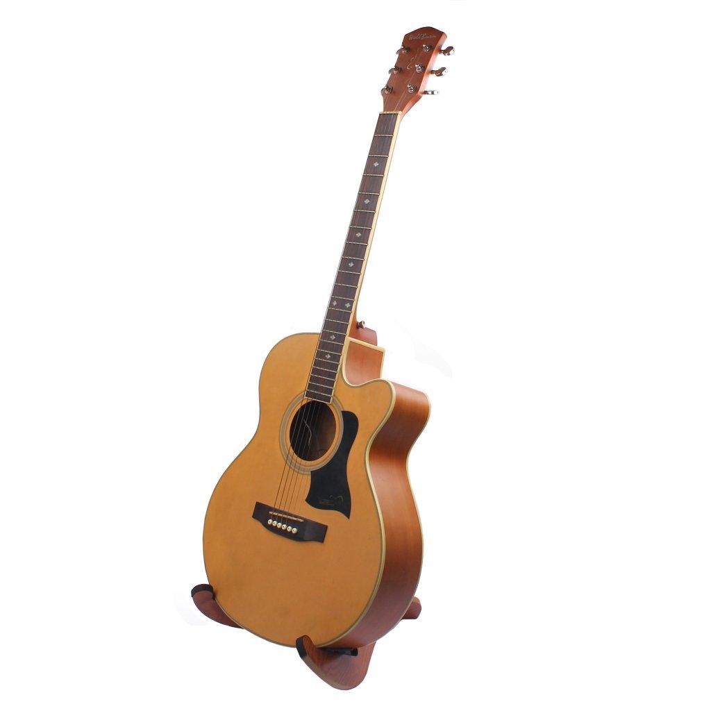 Soporte De Soporte De Bajo De Guitarra Acústica/Eléctrica DIY Para ...