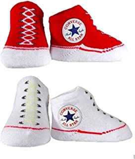 Pre-School Girls Converse Gift Set Baby Red - White Booties